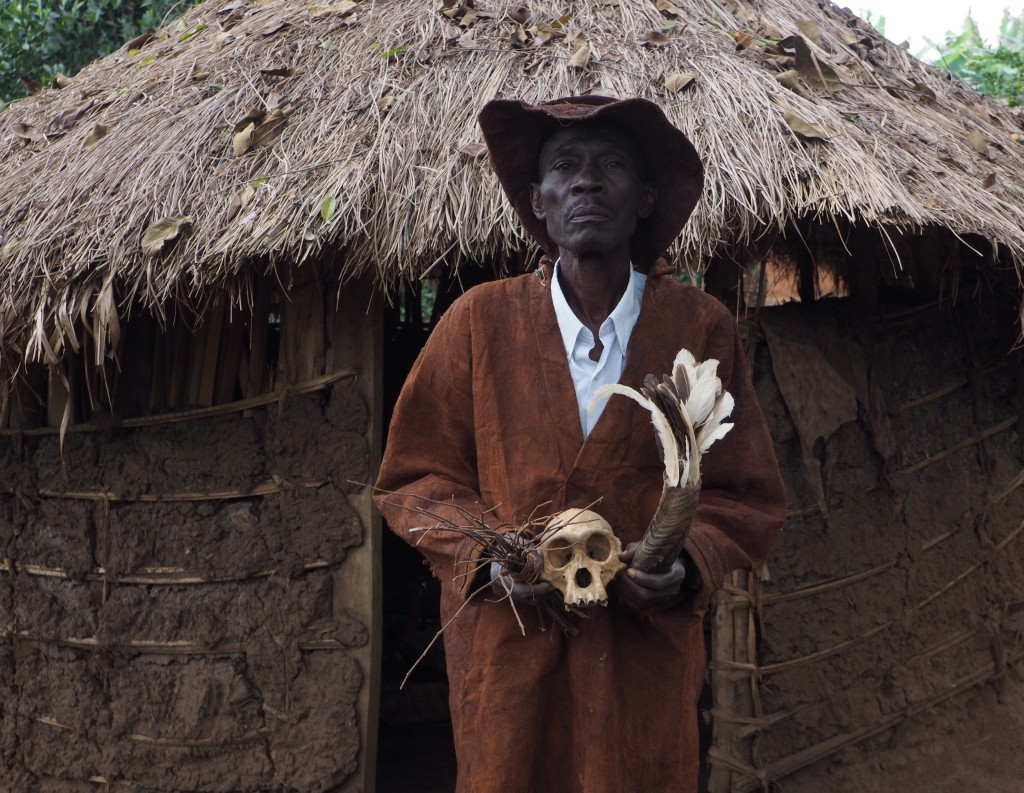 Ugandan traditional healer, 'Lawrence', uses witchcraft to heal.