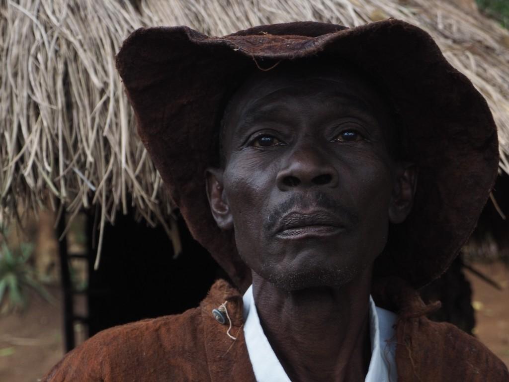 Ugandan traditional healer, Lawrence.