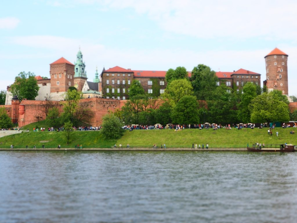 Wawel Castle, Krakow. Image: Alison Binney