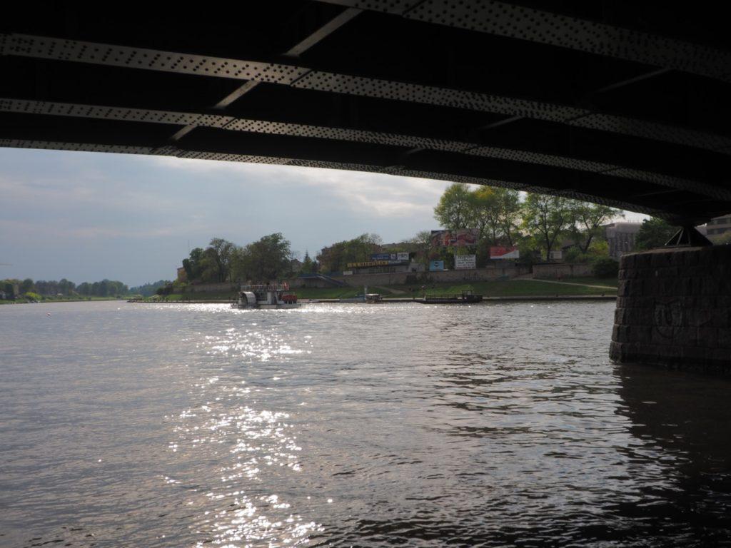 Under the Dębnicki bridge in krakow. Image: Alison Binney