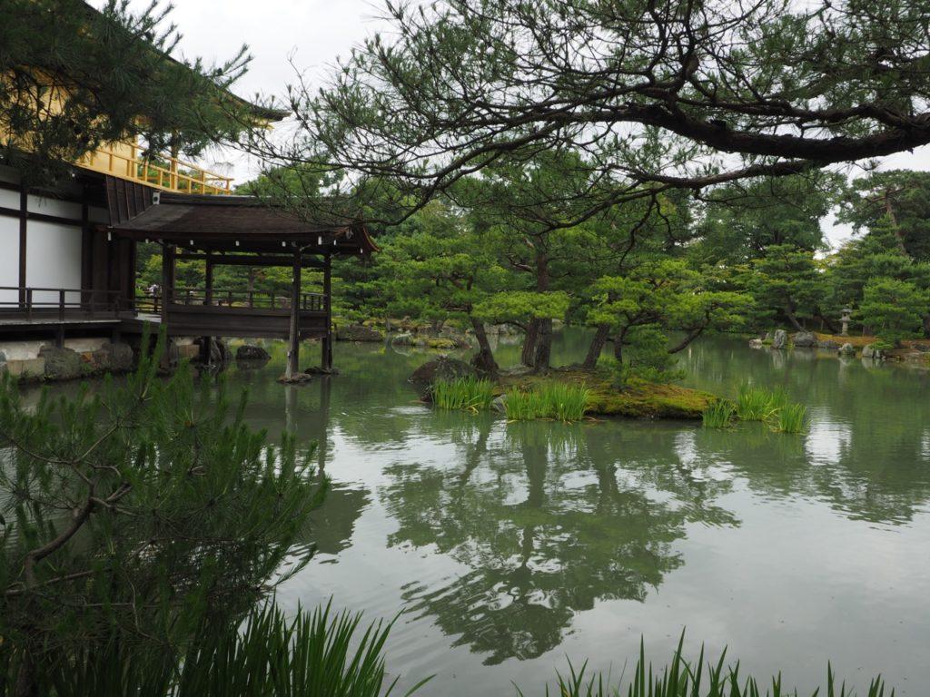 Kinkaku-ji (Temple of the Golden Pavilion) is a Zen Buddhist temple in Kyoto, Japan. Image: Alison Fay Binney