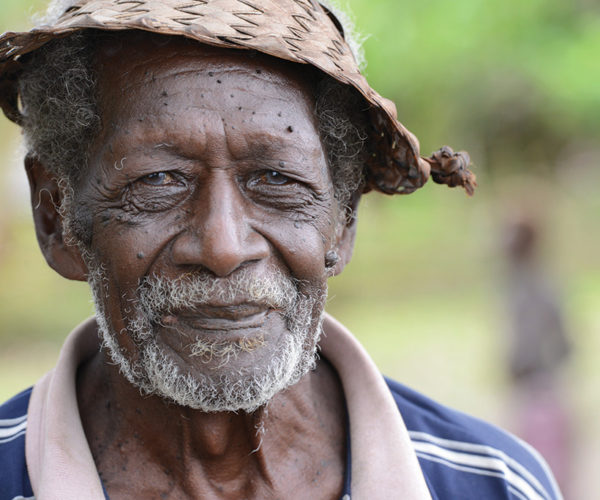 John Pitu, Village Chief, Nusa Roviana, Solomon Islands