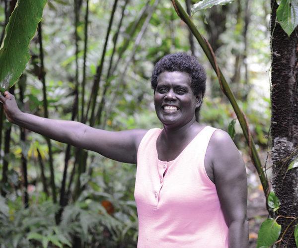 Miri Taqu, Project Coordinator, Roviana Conservation Foundation, Solomon Islands