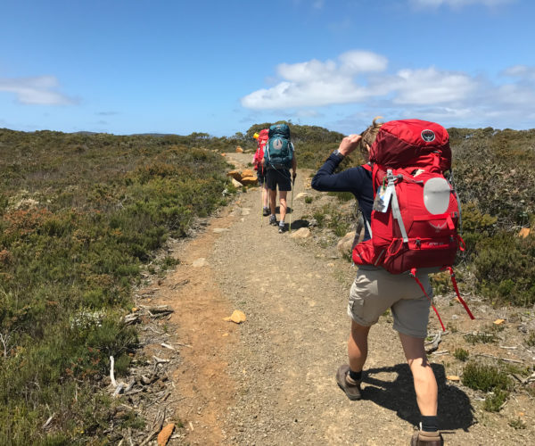 Walking the Three Capes in Tasmania