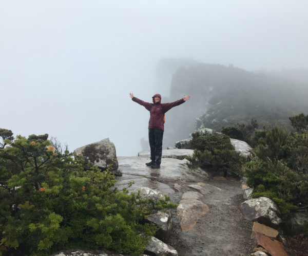 Walker on the Tasman Peninsula