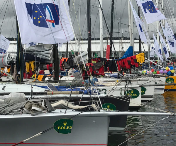 Finishers from the Sydney to Hobart, 2016