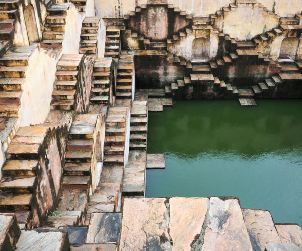 Step well at the Amber Palace, Jaipur