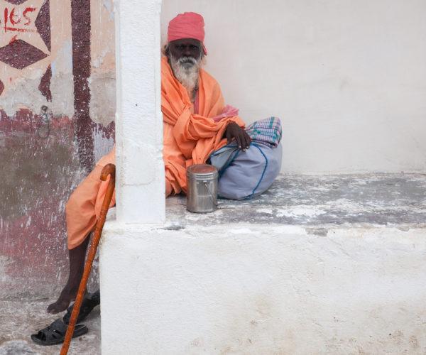 Pilgrim in Pushkar, Rajasthan