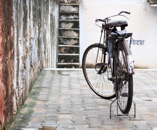 Pushbike in Pushkar, Rajasthan