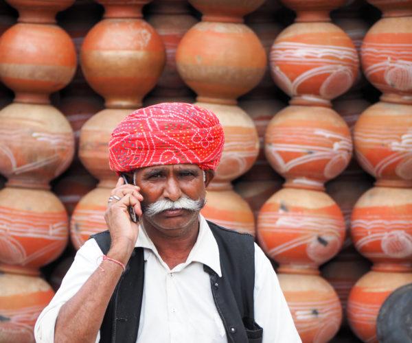 Waterpot seller
