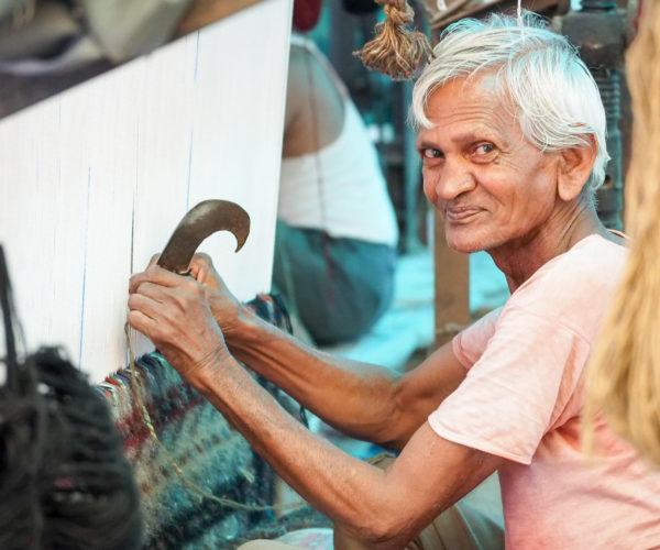 Carpet maker in Jaipur