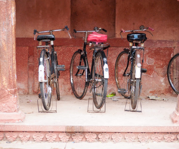 Staff parking at the Taj Mahal